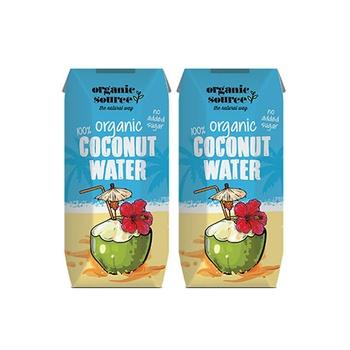 Organic Source Coconut Water 2X330ml