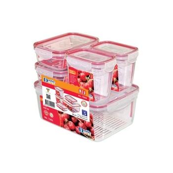 JCJ Food Container 5 pcs set # 9004