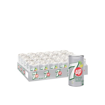 7 Up Sugar Free 30 x 150 ml