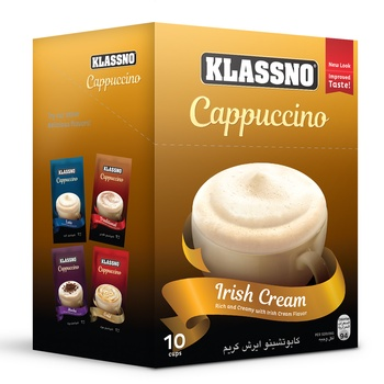 Klassno Cappuccino-Irish Cream 20g
