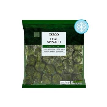 Tesco Leaf Spinach 1kg
