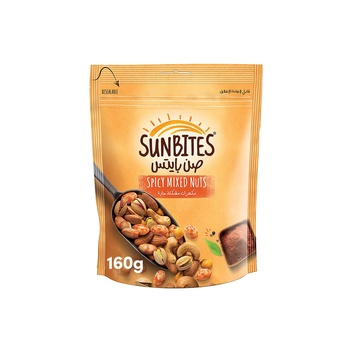 Sunbites Spicy Mixed Nuts 160g