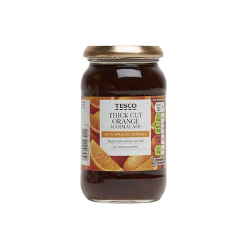 Tesco Thick Cut Orange Marmalade 454g