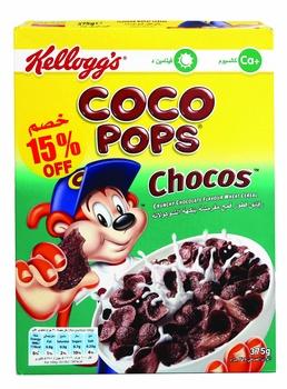Kelloggs Coco Pops 375G