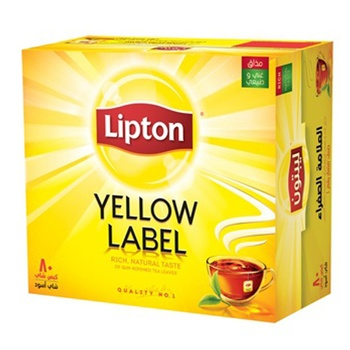 Lipton Yellow Lable Tea Bag 80's