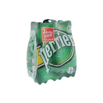 Perrier Sparkling Bottle Water 6 x 1 litre