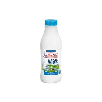 Elle & Vire Semi Skimmed Milk 1ltr