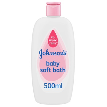 Johnson Bath Lotion Soft Pink 500 ml