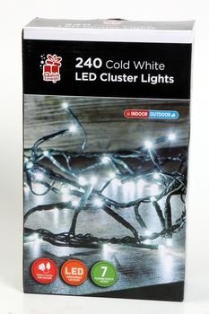 Chamdol 240 White Led Cluster Lights