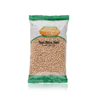 Goodness Foods Soya Beans Seed 500g