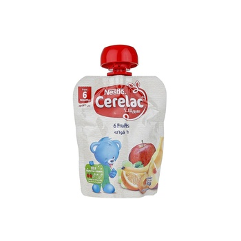 Cerelac 6 Fruits 90g