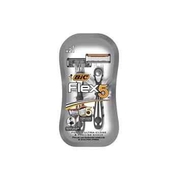 BIC Flex 5 Comfort Blister Men's Razors - Pack of 2