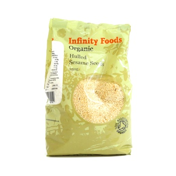 Infinity Foods Organic Hulled Sesame Seeds 250g
