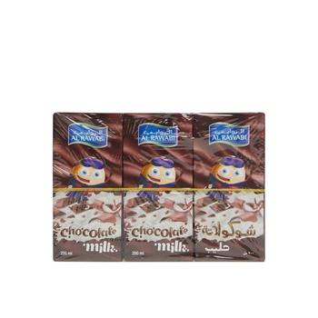 Al Rawabi UHT Milk Chocolate 200ml