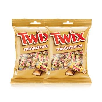 Twix Miniatures Chocolate 2 x 150g
