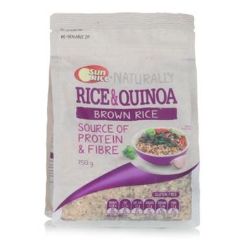 Sunrice Rice & Quinoa Gluten Free 750g