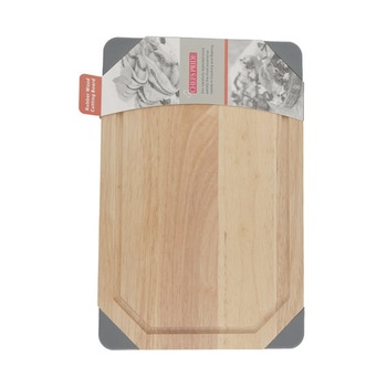 Chefs Pride Wooden Cutting Board with Soft Corner