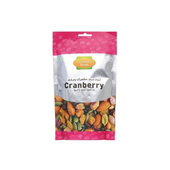 Goodness Foods Cranberry + Nuts Seed Sp 200g