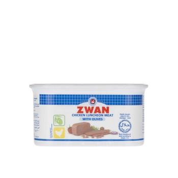 Zwan Chicken Luncheon Meat With Olives 200g