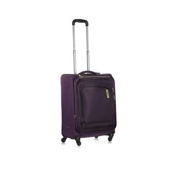 American Tourister Soft Luggage 4  Wheels Trolley Set -Bricklane 55 Cm Purple Spinner