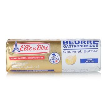 Elle & Vire Butter Unsalted  500g