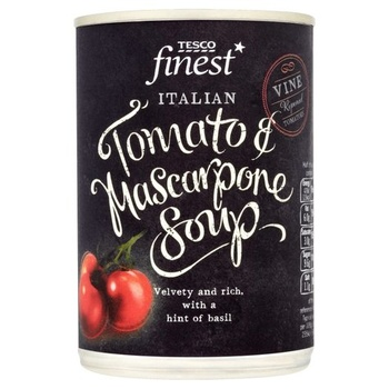 Tesco Finest Tomato & Mascarpone Soup 400g