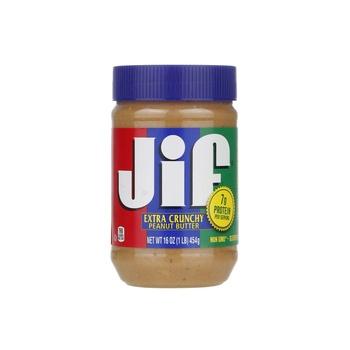 Jif Peanut Butter Crunchy 454g