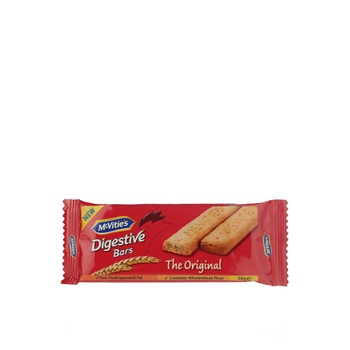 Mcvities Digestive Bars Original 30g