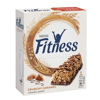 Nestle Fitness Chunky Caramel Cereal Bar 6S @15% Off