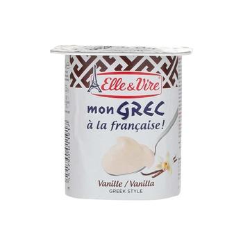 Elle &Vire Greek Yoghurt Vanilla 125g