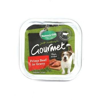 Natures Gift Beef Barley & Vegetables Dog Food 100g