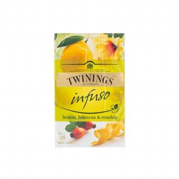Twinings Lemon Hibiscus Rosehip 20's