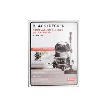 Black & Decker  Vacuum Cleaner 2000W - BV2000-B5