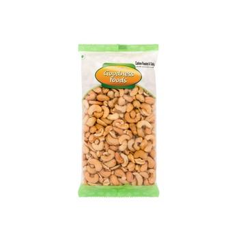 Goodness Foods Cashews Roasted & Salted Big 500g