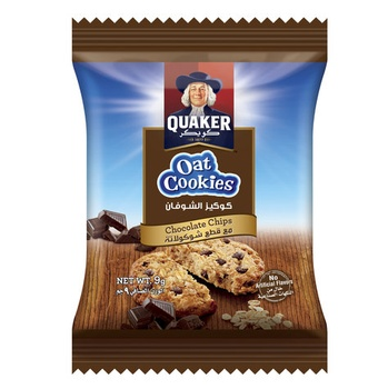 Quaker Oats Cookies Chocolate 9g