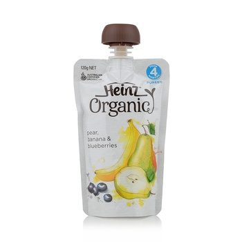 Heinz  Original Pear Banana Pouch Sp 120g