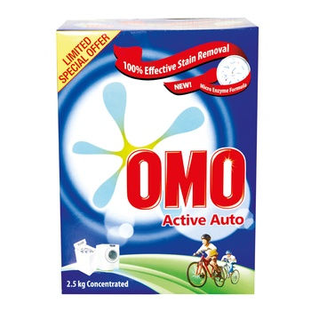 Omo Active Auto Top Loading 2.5kg