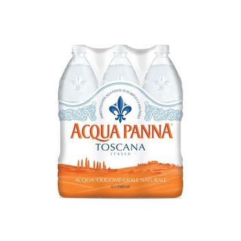 Acqua Panna Still Natural Mineral Water PET Bottle 6x1.5ltr