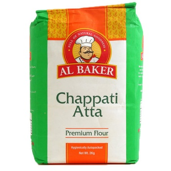 Al Baker Chappati Atta Premium Flour 2kg