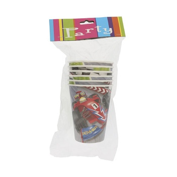 Grand Prix Paper Cup 9oz - 6pcs pack