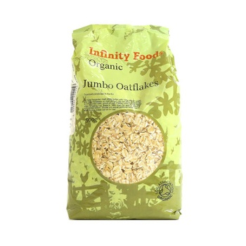Infinity Foods Organic Jumbo Oat Flakes 500g