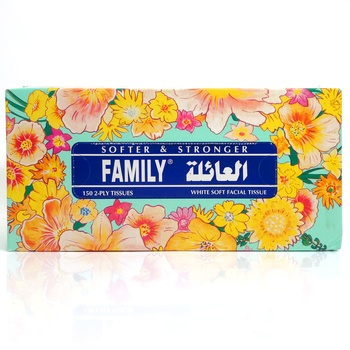 Family Tissue Paper 150 X 2 ply