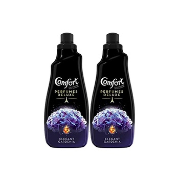 Comfort Perfumes Deluxe Concentrated Fabric Softener Elegant Gardenia 1.5 ltr Pack Of 2