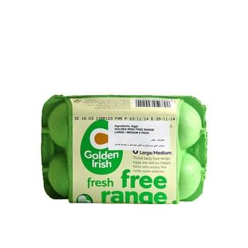 Golden Irish Free Range Large/Medium 6 Pack