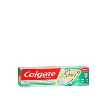 Colgate Total 12 Pro Breath Health Toothpaste 75ml
