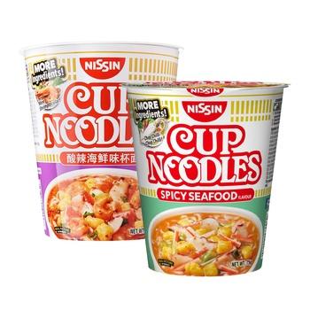 Nissin Cup Noodles Spicy Seafood 75gms