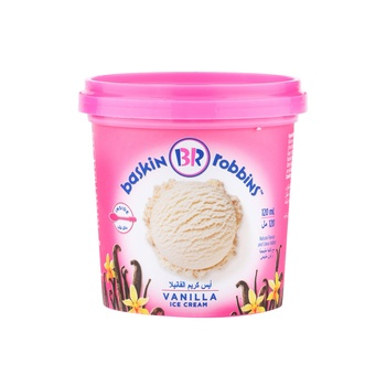 Baskin Robbins Vanilla Ice Cream 120ml