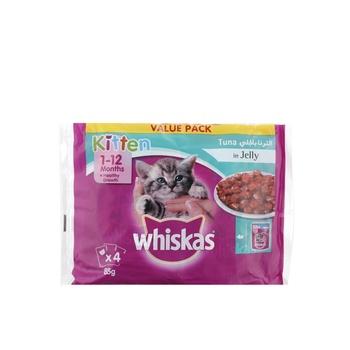 Whiskas Kitten Tuna Pouch 4x85g