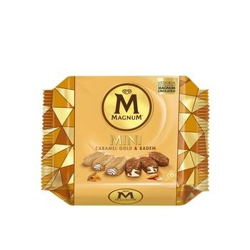 Magnum Mini Almond Caramel Gold Gcc 345ml