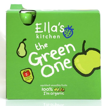 Ellas Kitchen The Green One Smoothie Fruit 5 X 90g